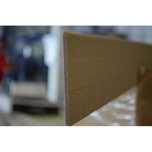 Склеенная картонная полоса 120х4х1500