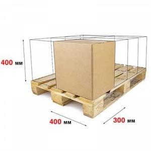 Гофрокороб 400 x 300 x 400 Т−22С бурый