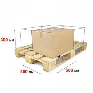 Гофрокороб 400 x 300 x 500 Т−22С бурый