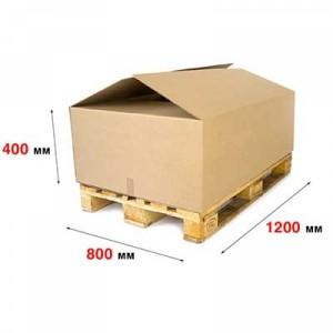 Гофрокороб 1200 x 800 x 400 П−32ВС бурый