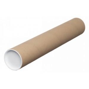 Тубус картонный почтовый 76*350 мм